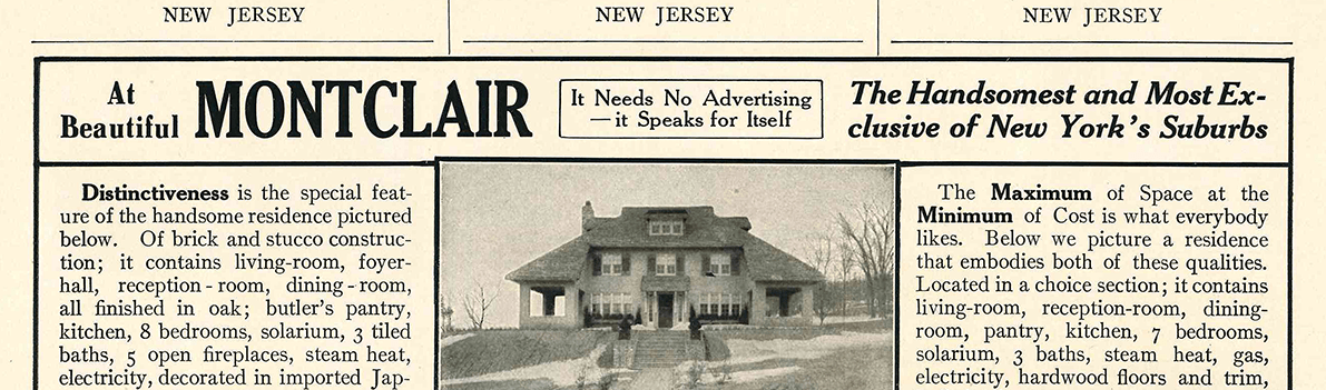 Montclair NJ Real Estate for Sale, Homes, Houses, Agents – News